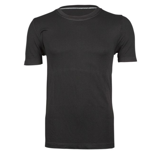 Laufoutlet - Kurzarm Shirt Funktionsunterwäsche - Geruchsneutralisierendes Funktionsunterhemd - black