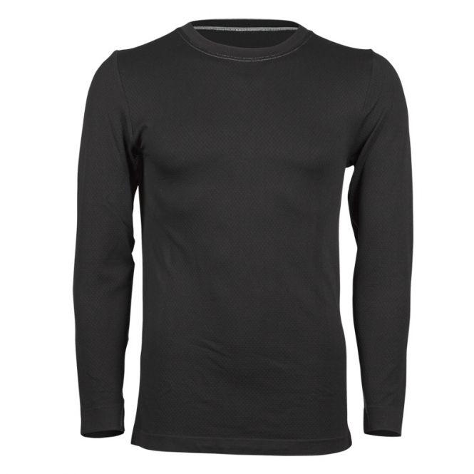 Laufoutlet - Langarm Shirt Funktionsunterwäsche - Geruchsneutralisierendes Langarm Funktionsunterhemd - black