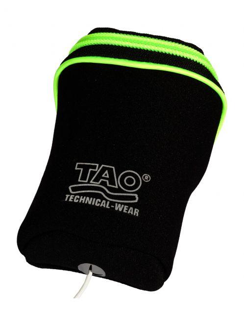 Laufoutlet - MEDIA POCKET Tasche - Tasche zur Befestigung an TAO- Armbelt - black/sirio