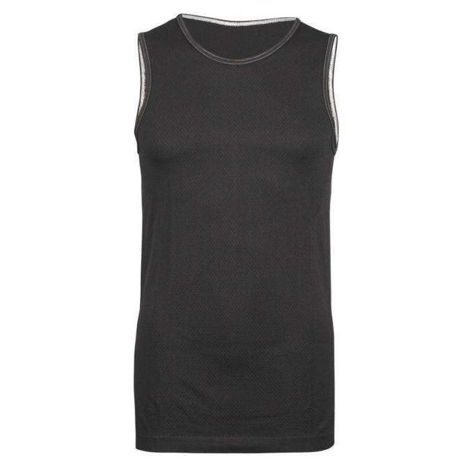 Laufoutlet - TANK TOP Funktionsunterwäsche - Geruchsneutralisierendes Funktionsunterhemd - black