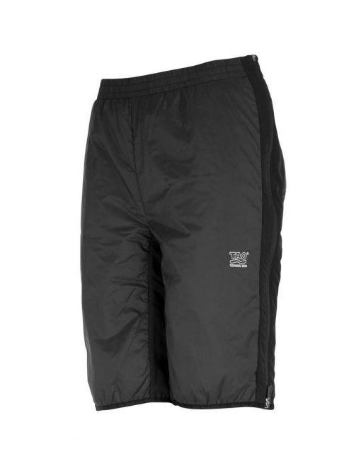 Laufoutlet - THERMAL PANT Warme Überzugshose - Warme Überzugshose mit seitlichen Reißverschlüssen und praktischer Tasche - black