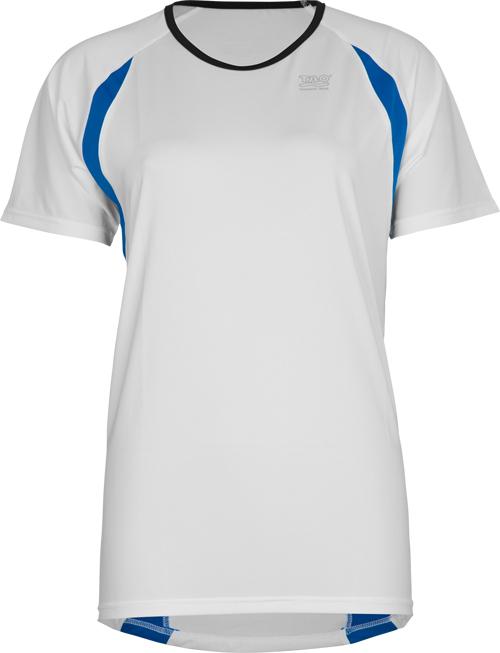 Laufoutlet - UNISEX Kurzarm Laufshirt - Atmungsaktives Unisex Laufshirt für Damen und Herren - white
