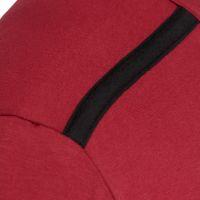 Laufoutlet - ECKY Langarm Freizeitshirt - Langarm Freizeitshirt aus Bio-Baumwolle mit weichen Nähten - dark red