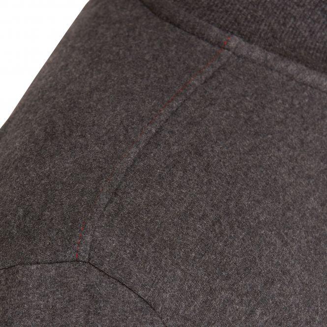 Laufoutlet - DALI Freizeitjacke - Freizeitjacke aus Bio-Baumwolle mit Stehkragen und Zip-Garage - graphit melange
