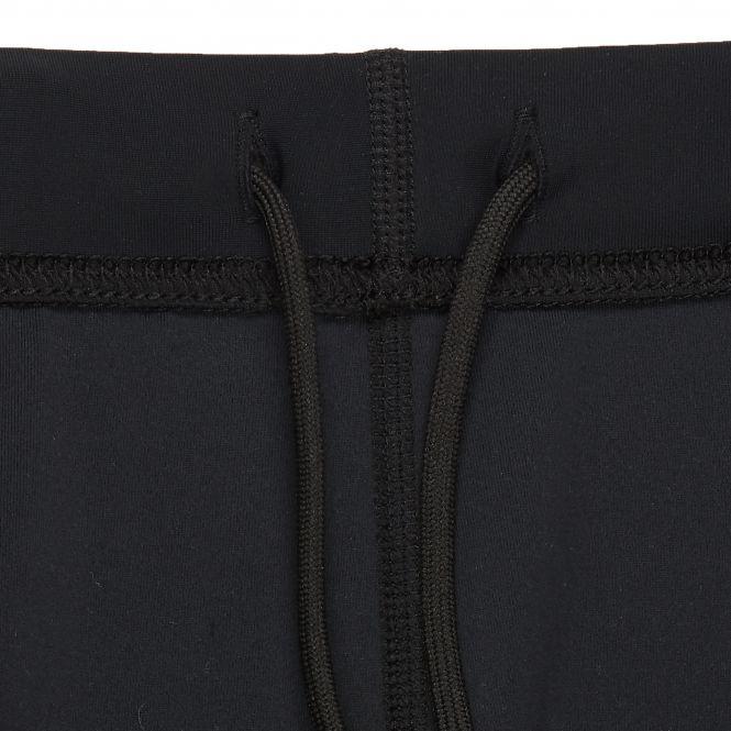 Laufoutlet - DAXTON Dünne Lauftight - Atmungsaktive Lauftight für kältere Tage aus recyceltem Polyester ECONYL® - black/dark red