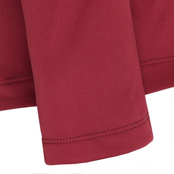 Laufoutlet - LEGOLAS Langarm Laufshirt - Warmes Langarm Laufshirt mit Rundhalskragen aus recyceltem Polyester - dark red/new devil