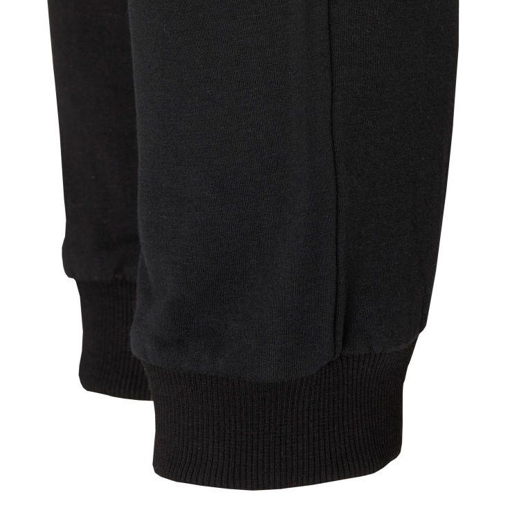 Laufoutlet - ERIKS Warme Freizeithose - Warme Freizeithose aus Bio-Baumwolle mit farblichen Akzenten - black