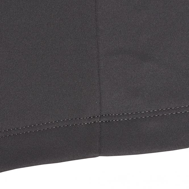 Laufoutlet - HEKTOR Warmes Laufshirt mit Zip - Warmes Langarm Shirt mit Reißverschlusskragen aus recyceltem Polyester - black/dark red