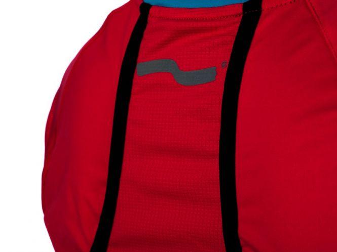 Laufoutlet - TEE Laufshirt - Atmungsaktives Laufshirt mit UV-Schutz und Handytasche - pitaya