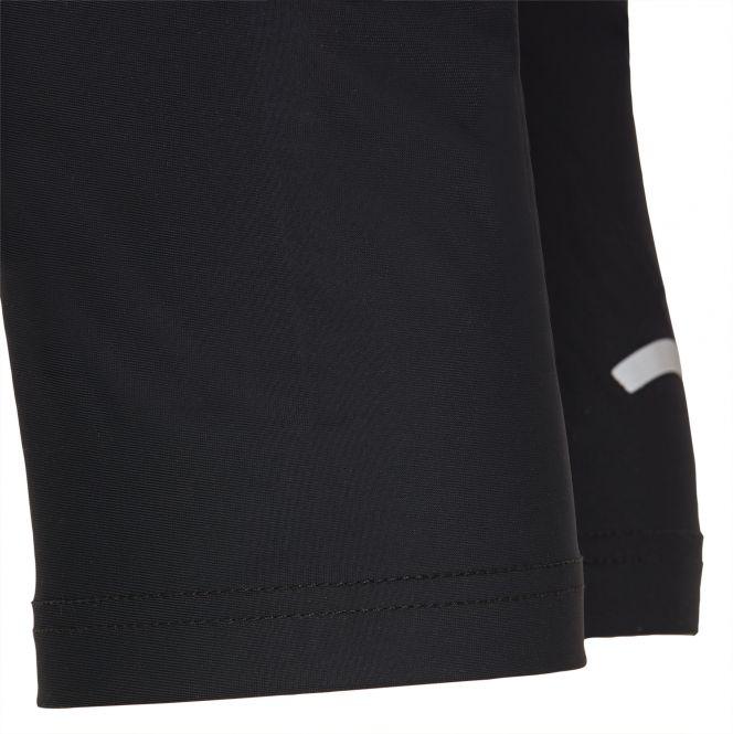 Laufoutlet - XENI 3/4-Lauftight - Atmungsaktive 3/4-Lauftight mit feststellbarer Reißverschlusstasche - black