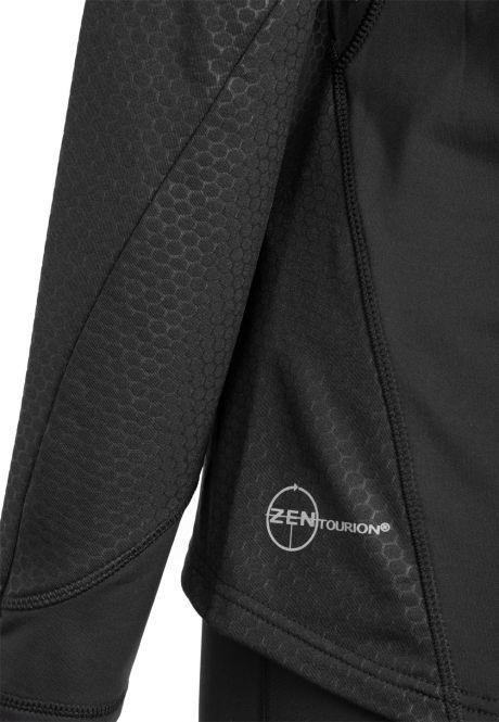 Laufoutlet - NEOTEC Langarm Laufshirt - Windabweisendes, wärmendes Laufshirt mit hoher Atmungsaktivität - black
