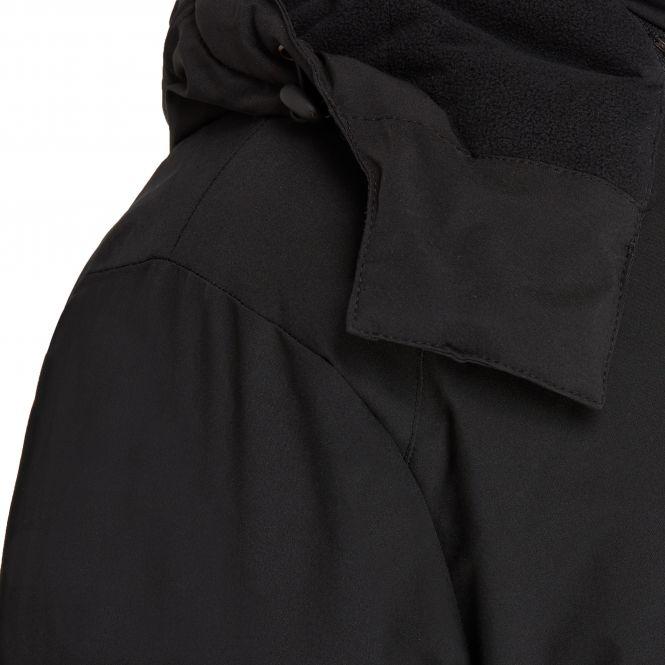 Laufoutlet - PADDED JACKET Gefütterte Winterjacke - Dick gefütterte Winterjacke mit abnehmbarer Kapuze - black