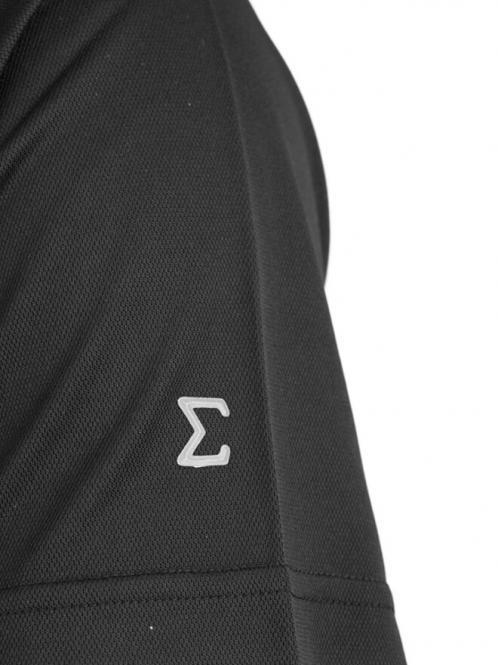 Laufoutlet - QUANTUM Funktionspolo - Atmungsaktives Poloshirt mit hohem Tragekomfort - black
