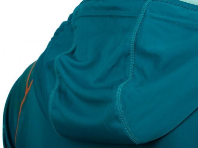 Laufoutlet - LAPSTYLE Sweatshirt mit Kapuze - Atmungsaktives Sweatshirt mit Kapuze - lagoon